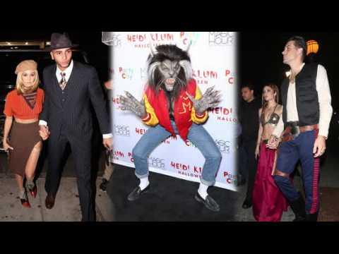 Heidi Kulm and Hollywood go crazy for Halloween
