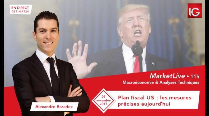 Illustration pour la vidéo #MarketLive 11h - Jeudi 2 novembre 2017.