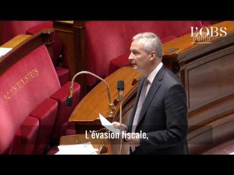 """Bruno Le Maire : """"L'évasion fiscale est une attaque contre la démocratie"""""""