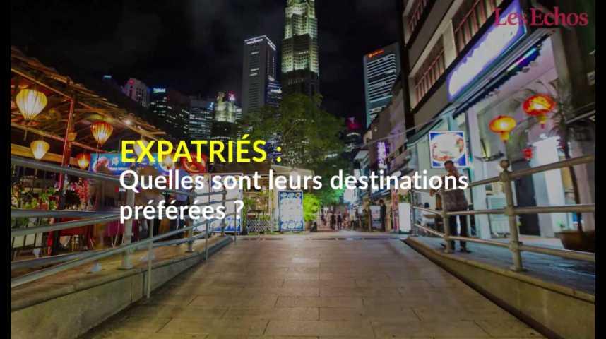 Illustration pour la vidéo Quelles sont les destinations préférées des expatriés ?