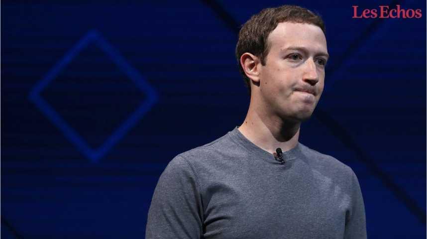 Illustration pour la vidéo Le ton monte entre Donald Trump et Mark Zuckerberg