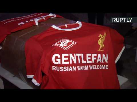 Liverpool Fans Receive 'Warm Welcome' Ahead of Champions League Draw in Moscow