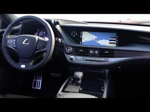 2018 Lexus LS 500 F Sport Interior Design in Matador Red