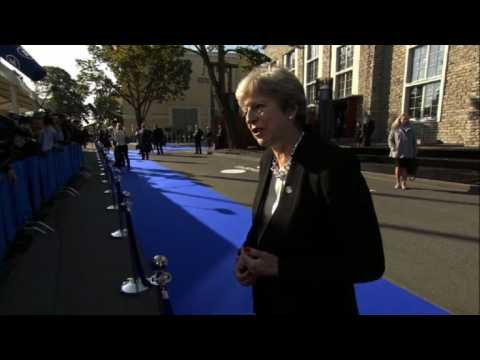 Brexit talks: May says 'very good progress' on citizens' rights