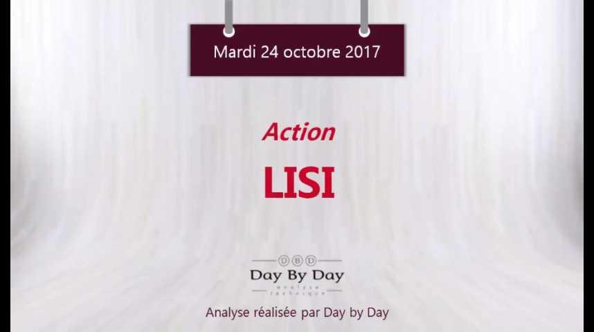 Illustration pour la vidéo Action LISI : sur un support majeur - Flash Analyse IG 24.10.2017