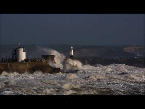 Ophelia winds battle Wales, England and Ireland