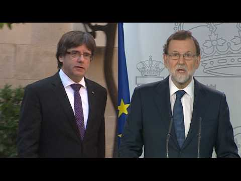 Dialogue, clarté, confusion... : le dialogue de sourds entre Puigdemont et Rajoy