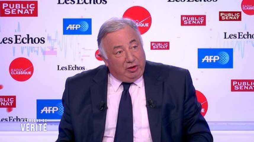 """Illustration pour la vidéo """"La diminution de la dépense publique n'est pas en marche"""" : Gérard Larcher"""