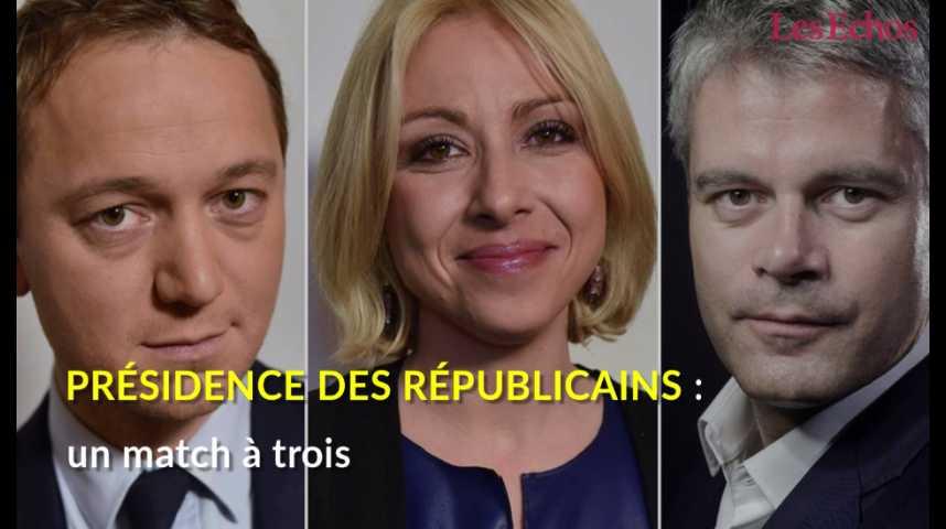 Illustration pour la vidéo Présidence des Républicains : un match à trois