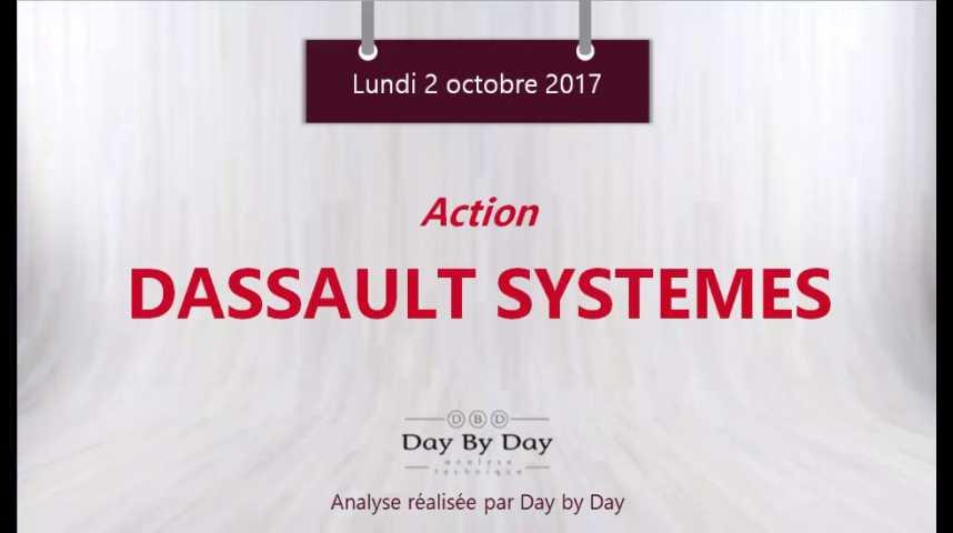 Illustration pour la vidéo Action Dassault Systemes : à l'assaut du plus haut historique - Flash analyse IG 02.10.2017