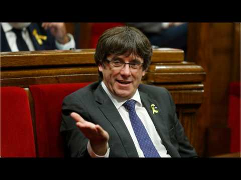Spain Seeks The Arrest Of Ousted Catalan Leader Puigdemont