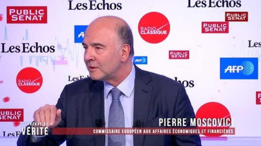 Illustration pour la vidéo Taxe dividendes : Moscovici dénonce « une polémique malvenue » de la part de Le Maire