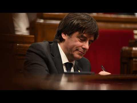 Catalan Ex-President Surrenders To Belgian Authorities