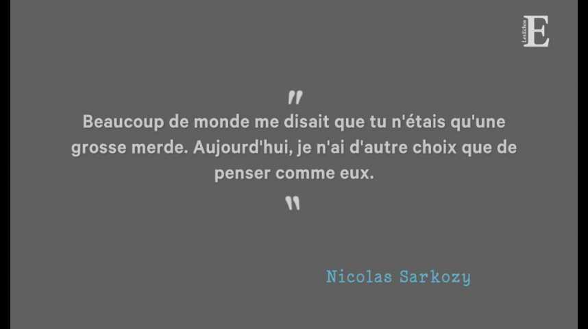 Illustration pour la vidéo Nicolas Sarkozy - Laurent Wauquiez: le clash