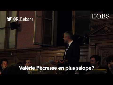 """""""Pécresse en plus salope"""", Royal """"la greluche"""" : les autres propos de Laurent Wauquiez"""