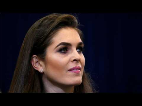 White House Communications Director Hope Hicks Announces Resignation