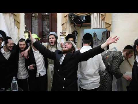 Ultra-Orthodox Jews celebrate holiday of Purim