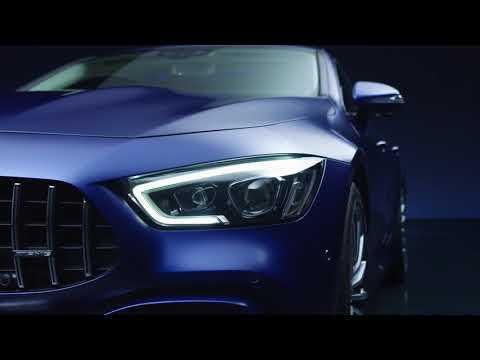 The all new Mercedes-AMG GT 63 S 4MATIC+ 4-Door Coupe - Studio Design Exterior