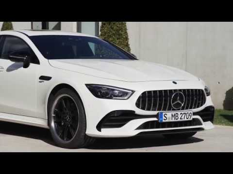 The all new Mercedes-AMG GT 53 4MATIC+ 4-Door Coupe Exterior Design