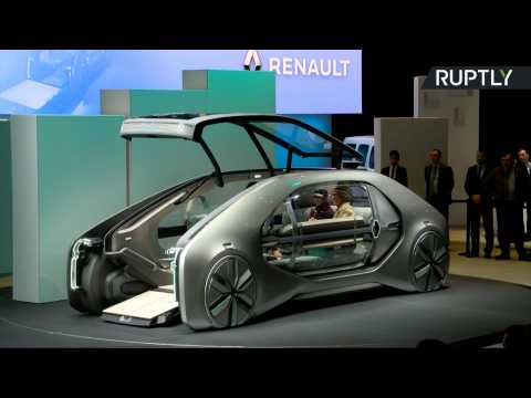 Renault's Driverless EZ-GO Concept May Be the Future of Ride-Sharing