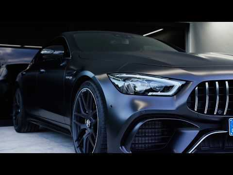The all new Mercedes-AMG GT 63 S 4MATIC+ 4-Door Coupe Exterior Design
