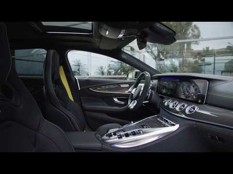 The all new Mercedes-AMG GT 63 S 4MATIC+ 4-Door Coupe Interior Design