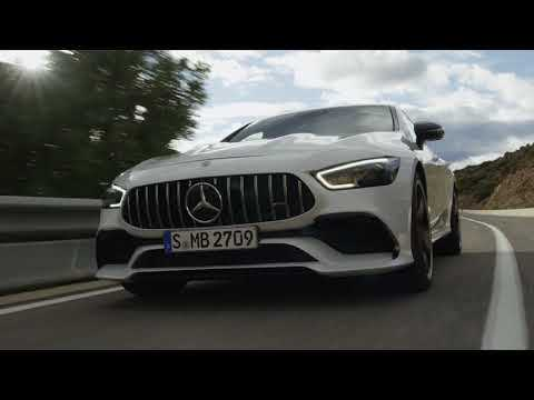 The all new Mercedes-AMG GT 53 4MATIC+ 4-Door Coupe Driving Video