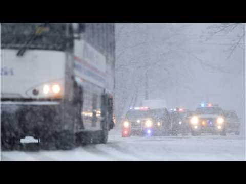 New England Slammed By Another Late Winter Storm