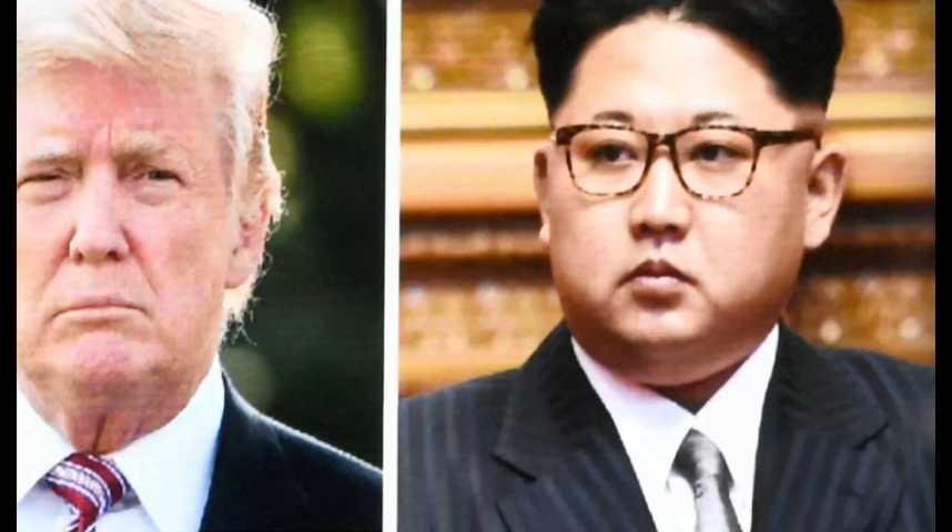 Illustration pour la vidéo Donald Trump accepte un face-à-face très incertain avec Kim Jong-un