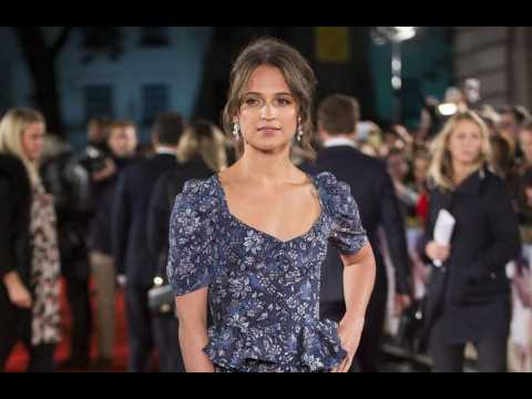 Alicia Vikander says becoming Lara Croft felt 'very empowering'