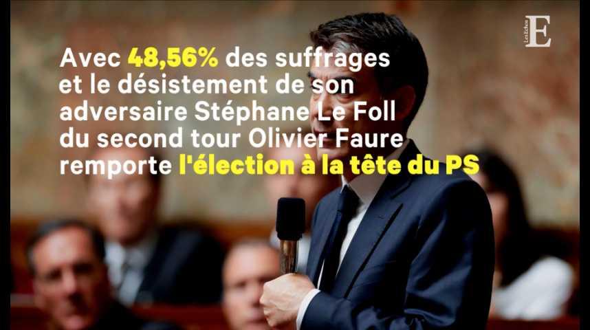 Illustration pour la vidéo Qui est Olivier Faure, le futur premier secrétaire du PS ?