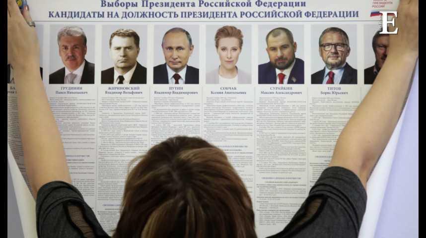 Illustration pour la vidéo Quels sont les enjeux de l'élection présidentielle en Russie ?