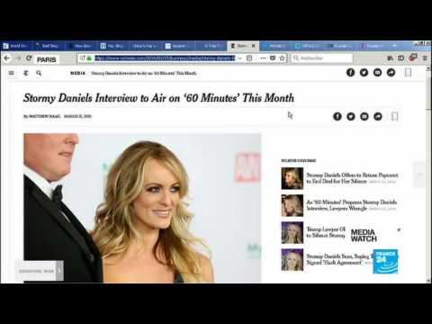 '60 Minutes' to air interview with porn actress aledging affair with Trump