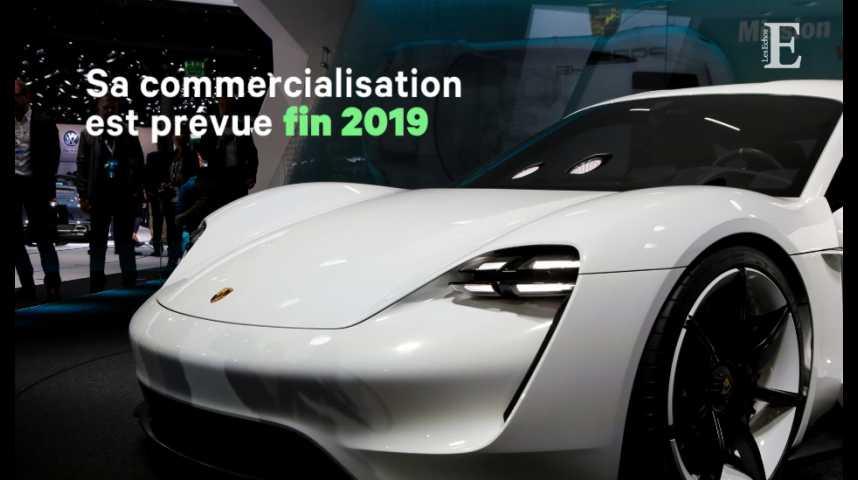 Illustration pour la vidéo Mission-E, la machine de guerre de Porsche pour débrancher Tesla