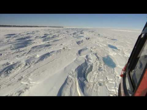 Sea level fears as more Antarctic ice floating than thought