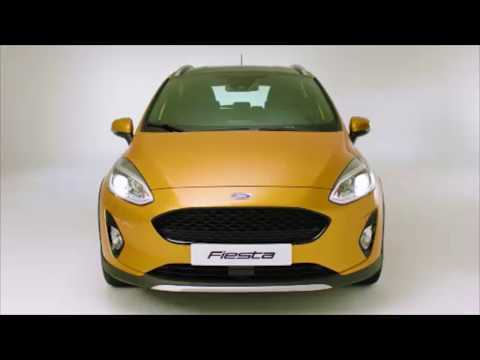 New Ford Fiesta Active Preview