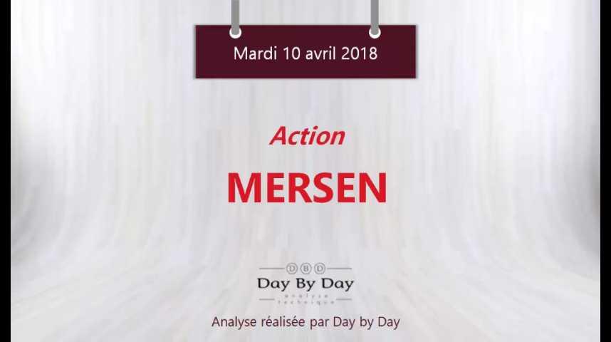 Illustration pour la vidéo Action Mersen : rebond sur le support majeur - Flash analyse IG 10.04.2018