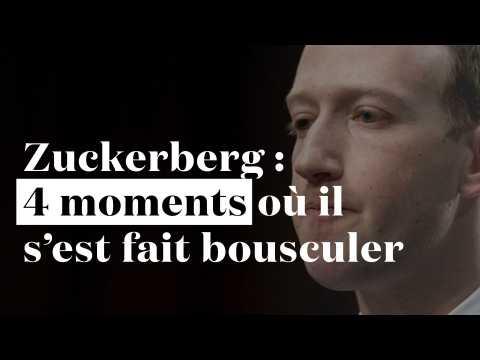 """""""Vos CGU craignent"""" : 4 moments où Mark Zuckerberg s'est fait bousculer au Congrès"""