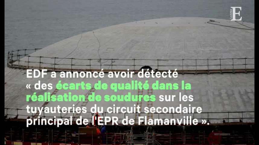 Illustration pour la vidéo Nucléaire : nouveau problème pour l'EPR de Flamanville