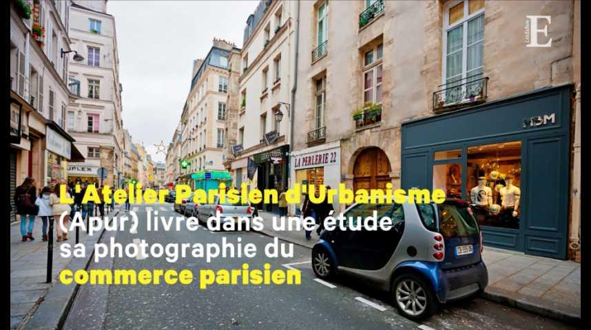 Illustration pour la vidéo Paris : les grossistes cèdent la place aux magasins spécialisés