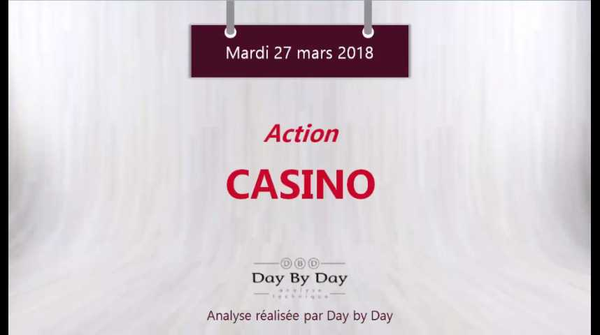 Illustration pour la vidéo Action Casino - reprise technique apres trois mois de baisse - Flash Analyse IG 27.03.2018