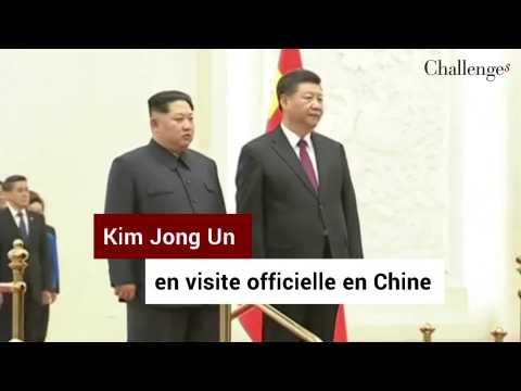 Visite historique du dirigeant nord-coréen Kim Jong Un en Chine