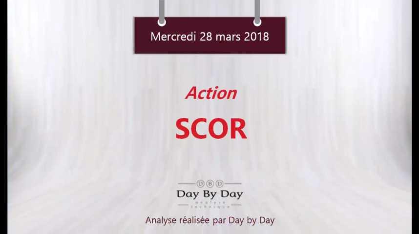 Illustration pour la vidéo Action Scor : sortie baissière du trading range - Flash analyse IG 28.03.2018