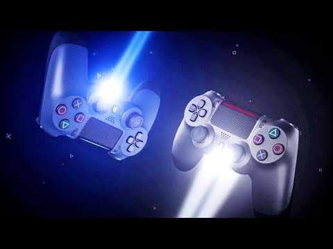 "New PS4 Controller: ""DUALSHOCK 4"" Midnight Blue & Steel Black Trailer"