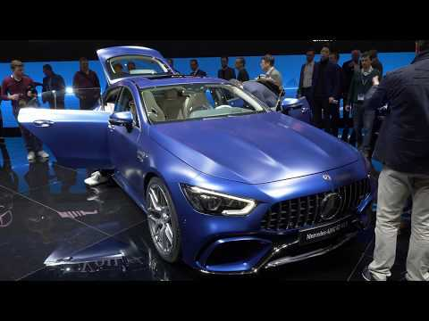 Geneva 2018 - World premiere of the AMG GT 4 door coupe & AMG G63 and Mercedes C-Class