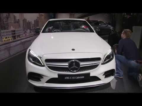 The new Mercedes-Benz C-Class Cabriolet - News Video