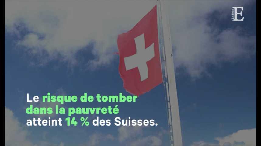 Illustration pour la vidéo Pauvre en Suisse : la double peine