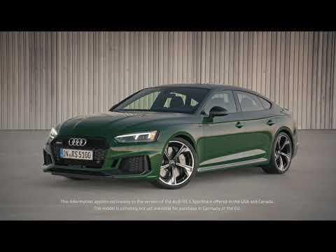 Optimum performance - the new Audi RS 5 Sportback