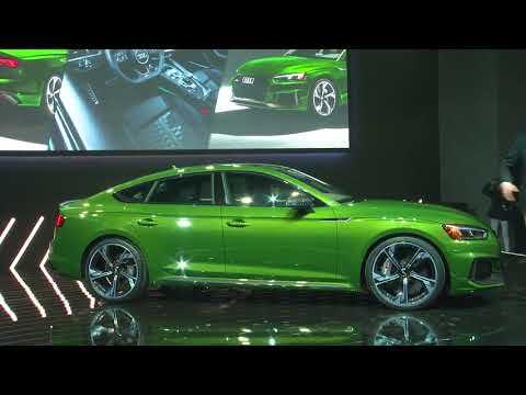 World Premiere of the new Audi RS 5 Sportback