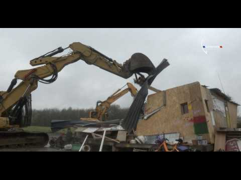 Notre-Dame-des-Landes : la gendarmerie démantèle les squats